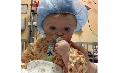 Baby boy begins eating again thanks to help from feeding program