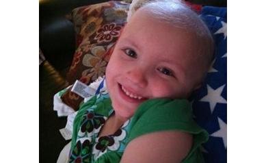 Girl battling cancer finds comfort in unusual friend