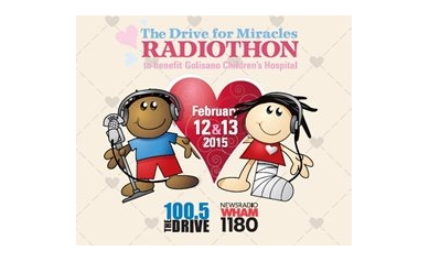 The Drive for Miracles Radiothon prepares for another spin!