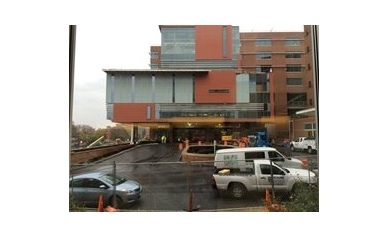 New entrance, new headwalls, and more for new hospital