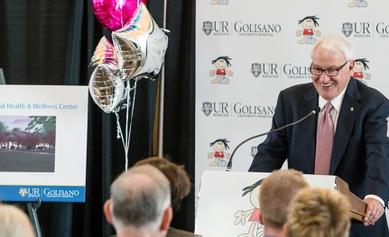 Tom Golisano gives $5 million for new Pediatric Behavioral Health & Wellness Center