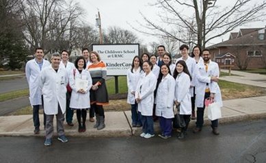 Dental Residents Teach Students About Smiles