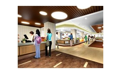 Revamped Hospital Cafeteria, 'Café 601,' Puts Focus on Healthy Eating