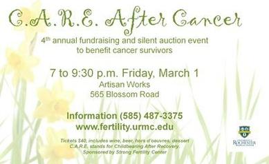 Strong Fertility Center Benefit to Aid Cancer Survivors