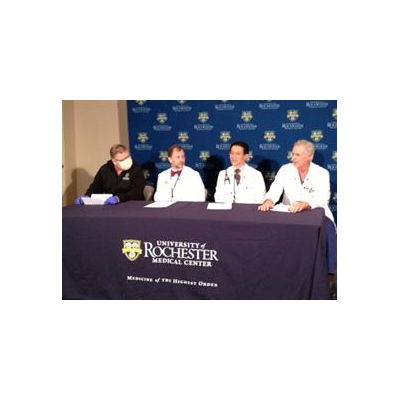 Upstate New York's 1st Total Artificial Heart Patient Leaves URMC Following Successful Heart Transplant