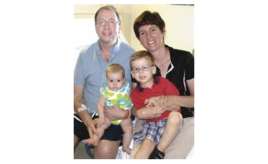 Gift of Life Lets Wheatfield Man Gain Strength to Help Raise 2 Young Children
