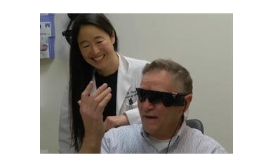 'Bionic Eye' Helps Wyoming County Man See His Bride Again