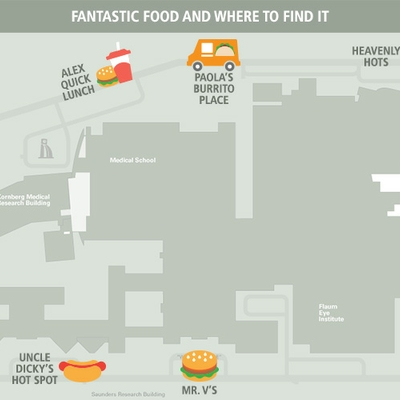 Fantastic Food and Where to Find It--A Guide to URMC's Food Carts