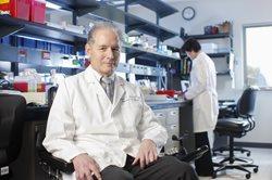 Brad Berk in lab