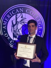 Yitschak Biton, M.D., receives award for research on LQT3.