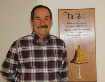 Mike Mager and the bell