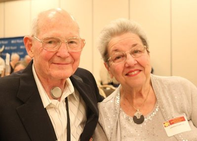Bob Crum and his wife, Tish