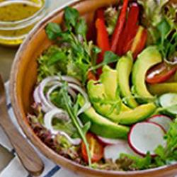 arugula kale salad