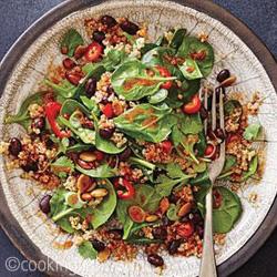 black beans quinoa