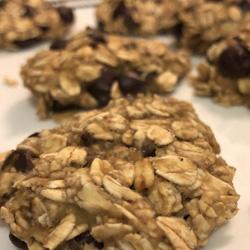 3 ingredient choco chip cookies