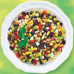 corn and kedney bean salad