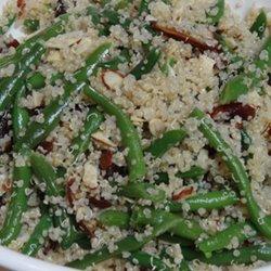 quinoa green beans
