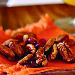 spiced pecans