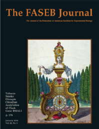 Cover of The FASEB Journal