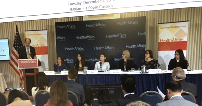 panel of authors at HA briefing
