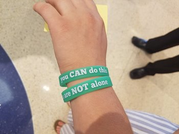 You are not alone bracelet
