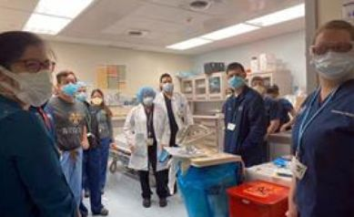 Emergency Medicine Team Returns from NYC COVID-19 Front Lines