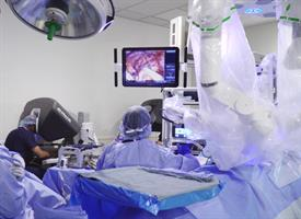 The UR Medicine Transplant team is the first in the Northeast to perform robotic-assisted transplant