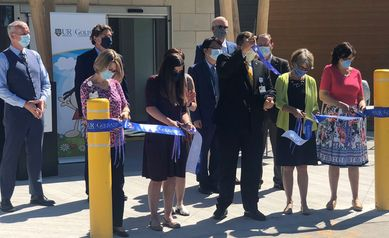 Golisano Behavioral Health and Wellness Building Opens with Ribbon-Cutting Ceremony