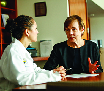 Carla Casulo, MD and Edith M. Lord, PhD