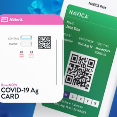 Quick COVID-detecting Nasal Swab Card, Tested at URMC, is Approved for Use