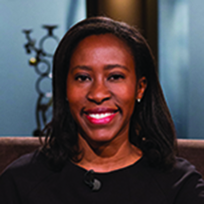 Erika U. Augustine (MD '03, Flw '10), Robert J. Joynt Associate Professor in Neurology and Pediatrics and Associate Director at the Center for Health + Technology at the University of Rochester Medical Center