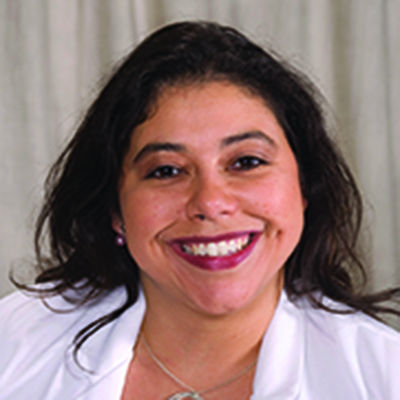 Jimena Cubillos ('97, MD '03), Associate Professor of Clinical Urology and Director of Quality in the Department of Urology at the University of Rochester Medical Center