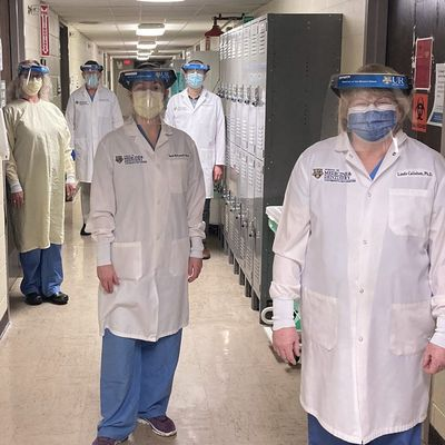 Neuroscience faculty keeps anatomy lab hands-on despite pandemic, students excel