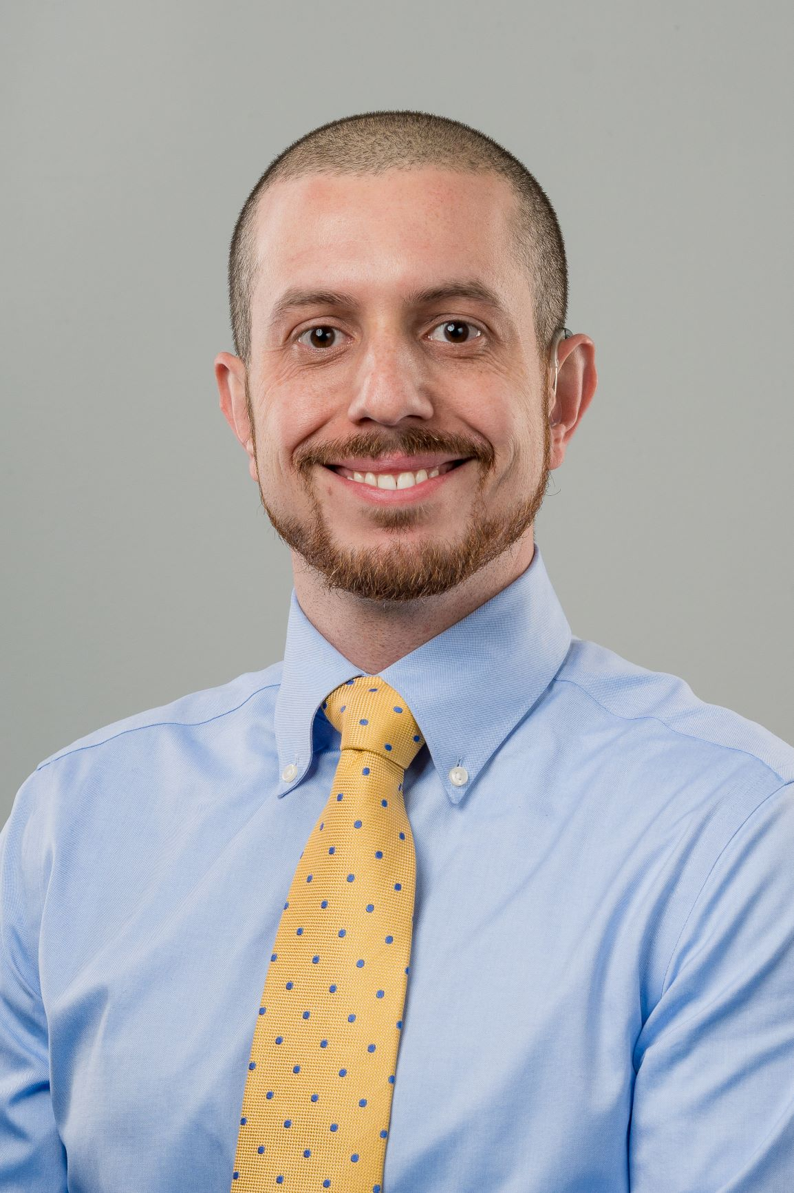 Ian DeAndrea-Lazarus, M.D. and Ph.D. candidate in the Medical Scientist Training Program