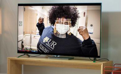 Super Gratitude for the Super Bowl: UR Medicine Thanks Staff, Faculty, Community in New Ad