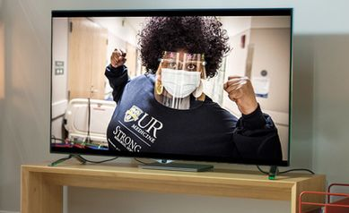 Super Gratitude for the Super Bowl: UR Medicine Thanks Staff, Faculty, Community in New Ad