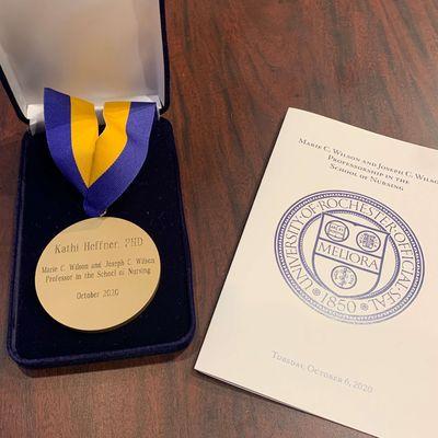 Wilson Professorship Award