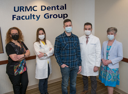 Jeff's team consisted of a Dental Assistant, two specialists, and the senior administrator.