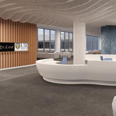 URMC Ortho Campus Interior rendering