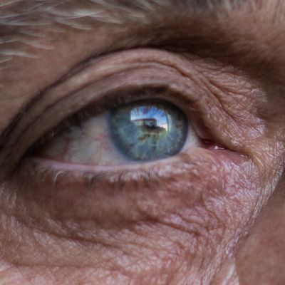 Eyes of a senior woman