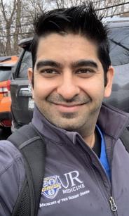 Head and shoulder shot of Dr. Kakkar