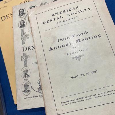 Dental Society meeting