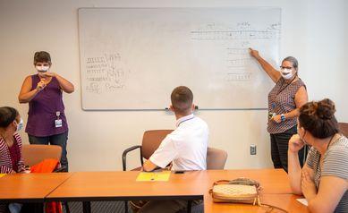 Wilmot Hosts Deaf High School Students for Internship, Inspiring New Career Possibilities
