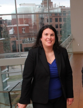 portrait of cancer researcher Michelle Janelsins