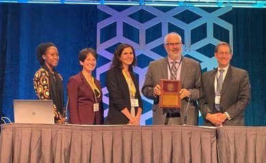 Dr. Jonathan Mink receives Child Neurology Society's highest honor