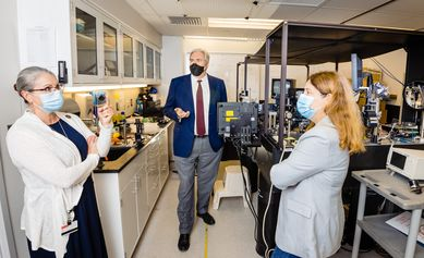 Seeing the future of science and care at the Center for Visual Science