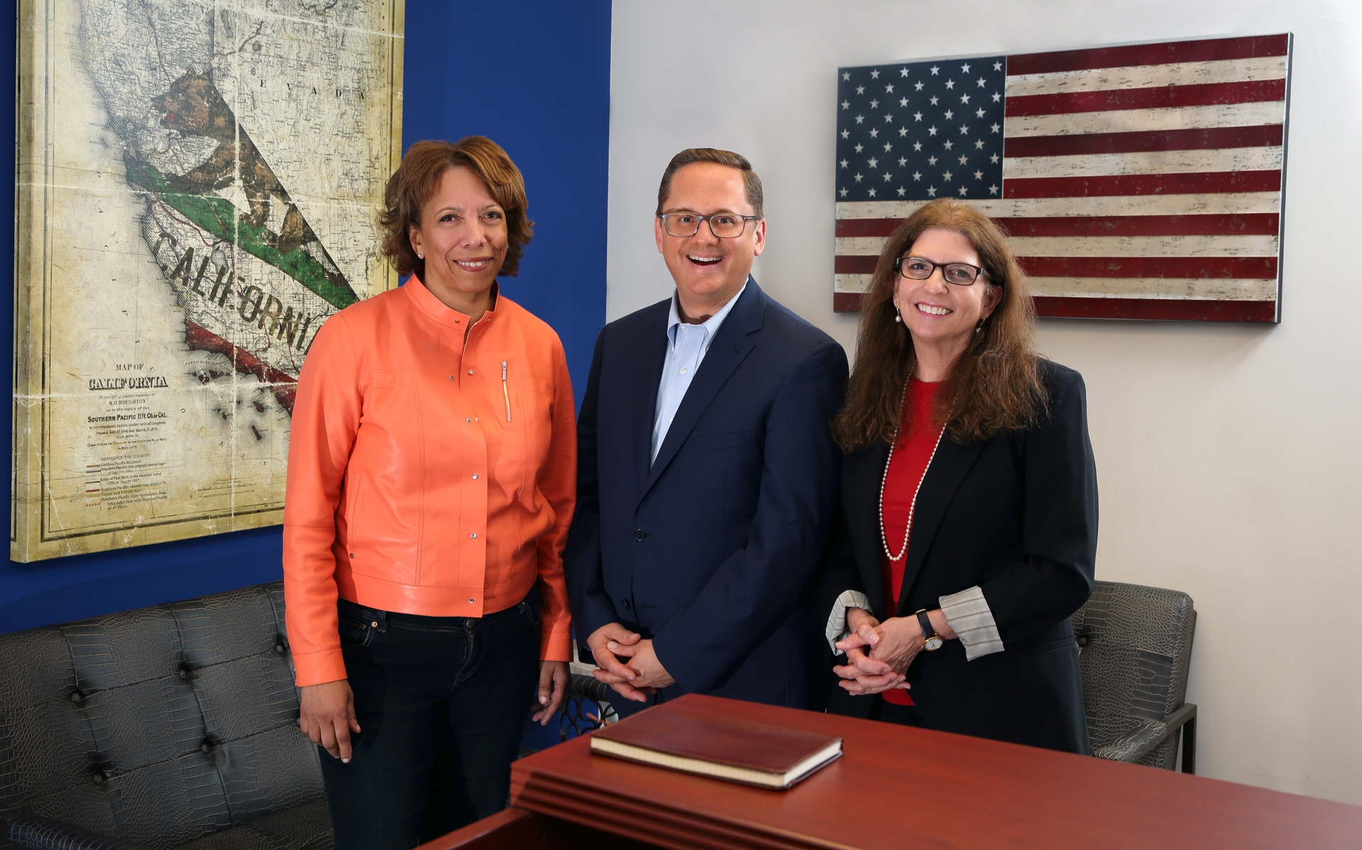 David Herbst, Janet Clayton and Sarah Catz of VECTIS Strategies