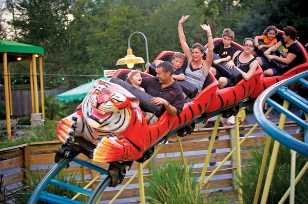 ZooTampa at Lowry ParkRoller Coaster