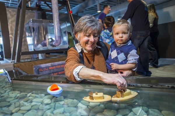 Children's Museum of Denver at Marsico Campus - water play