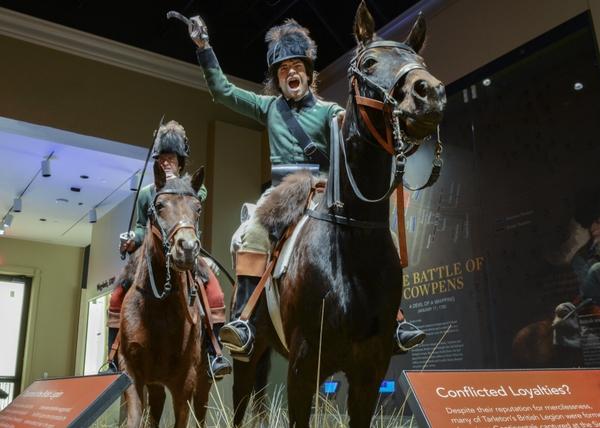 Loyalist Cavalry Troopers Tableau